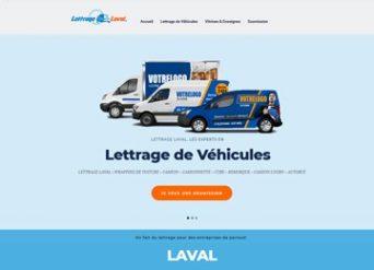 Conception site web Laval - LettrageLaval.com
